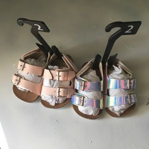 Lot Of Baby Sandals